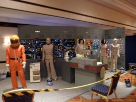 Space 1999 Display at Autographica