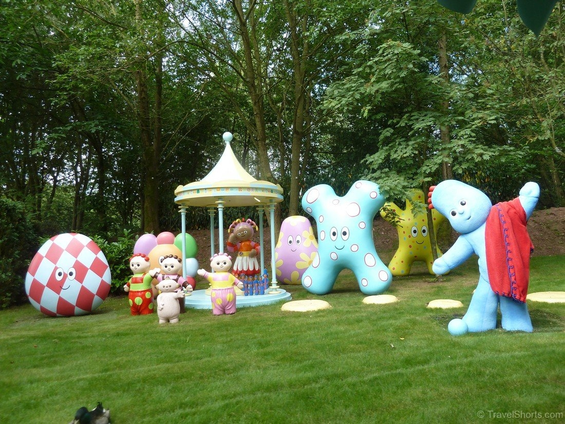 In the Night Garden Boat Ride at CBeebies Land at Alton Towers