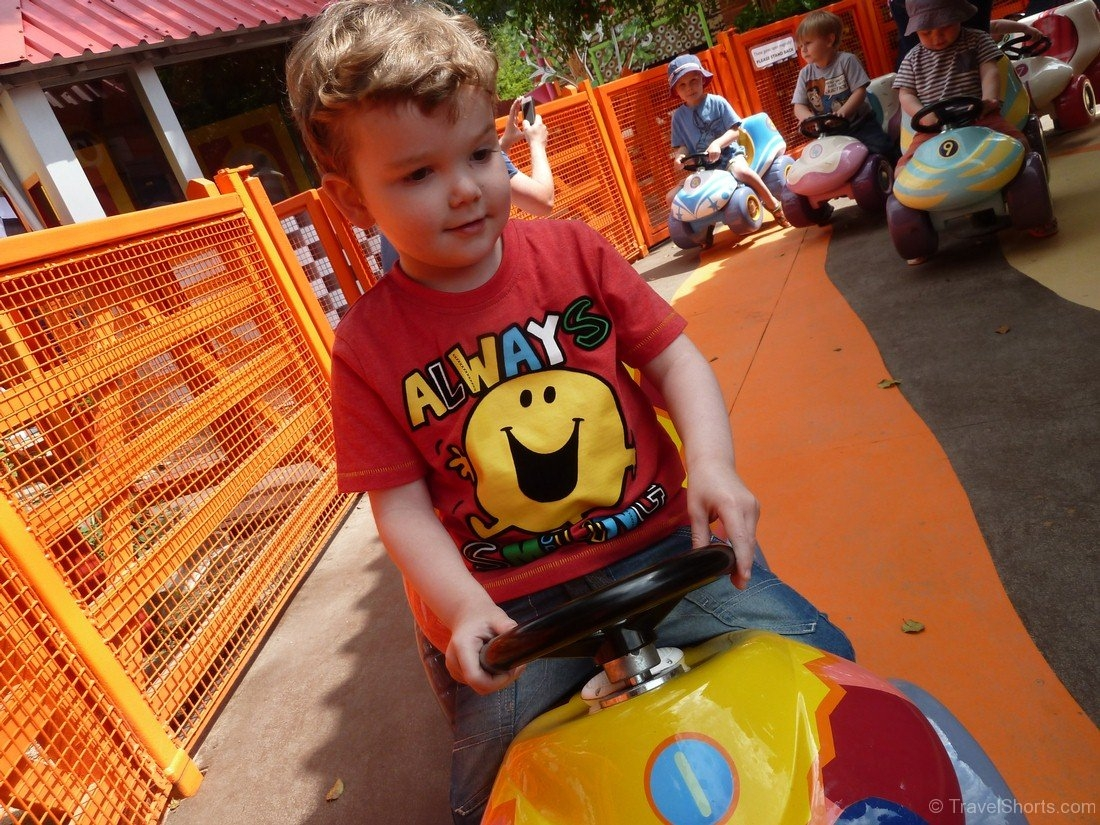 NumTums Number Go Round at CBeebies Land at Alton Towers