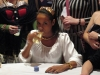 Dania Ramirez playing poker