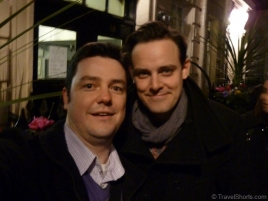 Harry Hadden-Paton and me