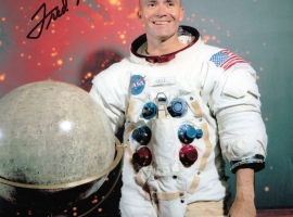 Fred Haise Signed Photograph