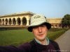 Me at Agra Fort