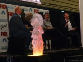 Sherlock Talk with Steven Moffat, Mark Gatiss and Sue Vertue at London Film and Comic Con 2014 01
