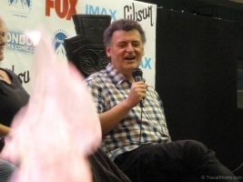 Sherlock Talk with Steven Moffat, Mark Gatiss and Sue Vertue at London Film and Comic Con 2014 04