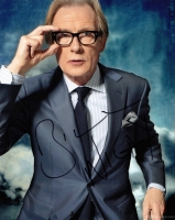 Bill Nighy Signed Photograph