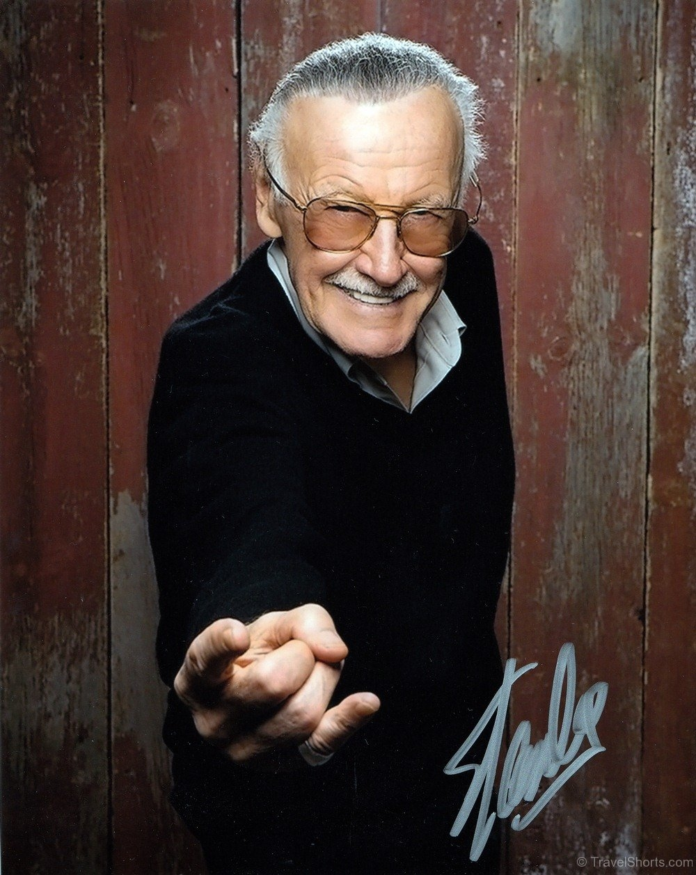 Stan Lee Signed Photograph