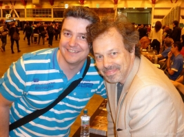 Curtis Armstrong and Me at London Film and Comic Con 2014