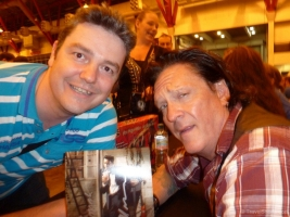 Michael Madsen and Me at London Film and Comic Con 2014