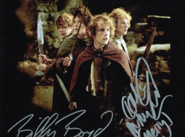 Dominic Monaghan and Billy Boyd Signed Photograph