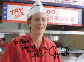 Judge Reinhold Signed Photograph