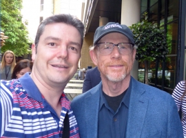 Ron Howard and MeJPG