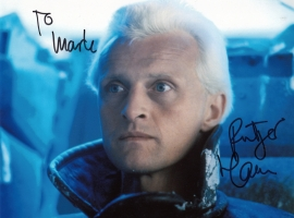 Rutger Hauer Signed Photograph