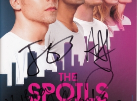 The Spoils Program Signed by All Cast Members