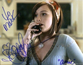 danielle-harris-signed-photograph