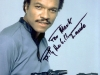 Billy Dee Williams Autograph