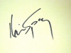 Kevin Spacey Autograph