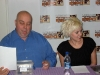Brea Grant and David H Lawrence Signing