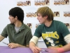 Colin Morgan and Bradley James Merlin